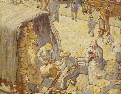George J Charlton, 'Unloading the Barrels'
