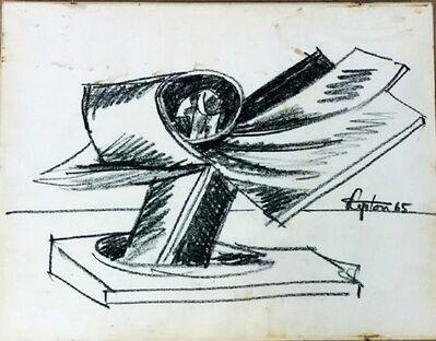Seymour Lipton, 'Study for Pacific Bird Sculpture', 1965