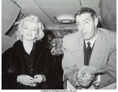 Kashio Aoki, '02 (Marilyn Monroe and Joe DiMaggio) from The Honeymoon Series', 1954