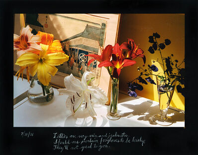 Duane Michals, 'Lillies are very vain', 2006