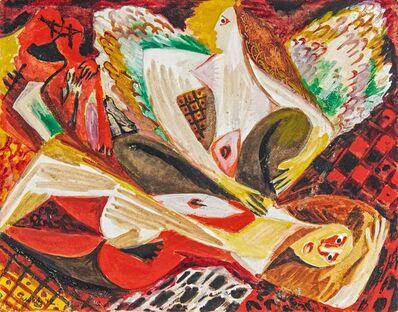 Ernst Wilhelm Nay, 'Der Engel', 1942