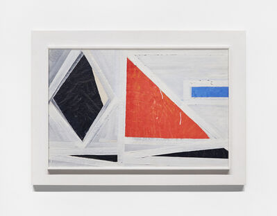 Dorothy Antoinette (Toni) LaSelle, 'Untitled (red triangle) ', 1953