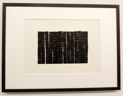 Vera Molnar, '196 rectangles à la règle d'or ', 1983