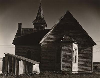 Wright Morris, 'Church, near Milford, Nebraska', 1947