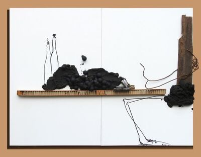 Joachim Silué, 'At The Table - Always The Same Shit', 2010