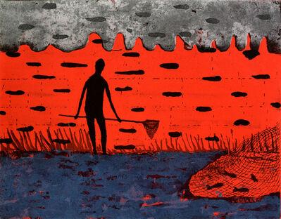 Stephen Chambers, 'Fishing behind the Net', 2001