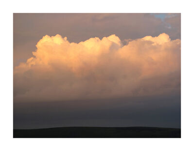 Garry Fabian Miller, 'Palmers Cloud, looking south to Hamel Down ', Winter 2014