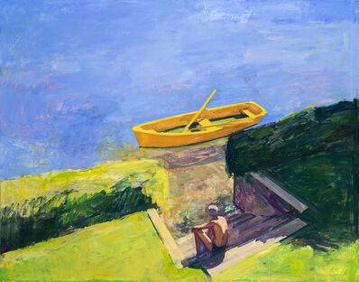 Kurt Solmssen, 'Brilliant Yellow Boat', 2019