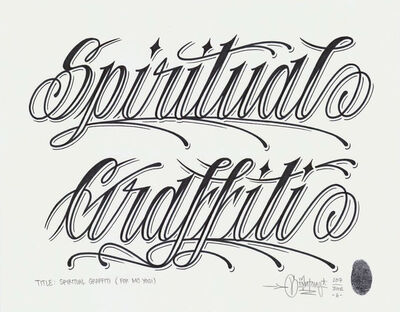 Mike Giant, 'Spiritual Graffiti', 2017