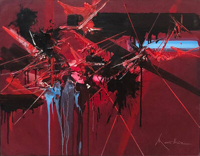 Georges Mathieu, 'Le rien premier', 1980