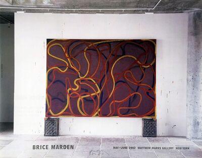 Brice Marden, 'Brice Marden (Hand Signed)', 2002