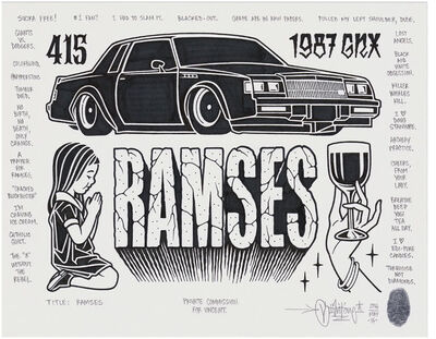 Mike Giant, 'Ramses', 2016