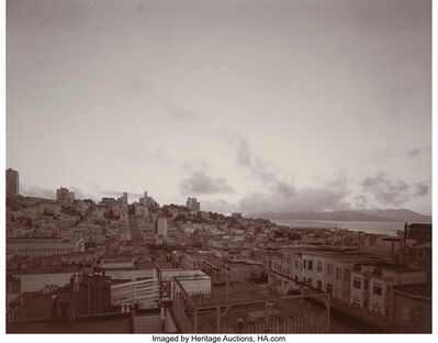 Kathy Willens, 'San Francisco Skyline and Trees (two photographs)', 1972
