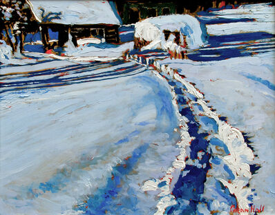 Glenn Hall, 'Snow Shoe Trail to Jon McDonald's Cabin', 2019