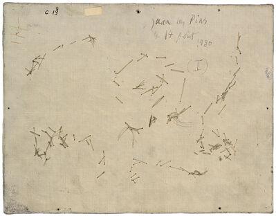 Philippe Gronon, 'Verso n°54, Baigneuse et profil, par Pablo Picasso, collection Musée national Picasso, Paris', 2016