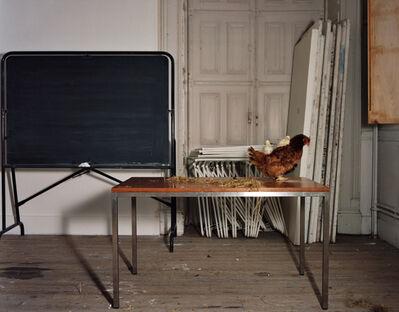 Olivier Richon, 'With Hen - Animals Looking Sideways Series', 2000
