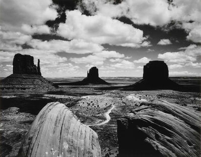 Brett Weston, 'Monument Valley', 1969