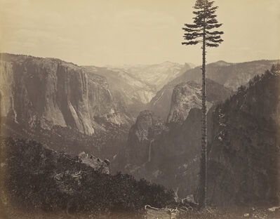 Carleton E. Watkins, 'Yosemite Valley from the Best General View', 1866