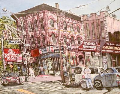 Lewis Pujol, 'Queens-Woodside Street Scene', 2015