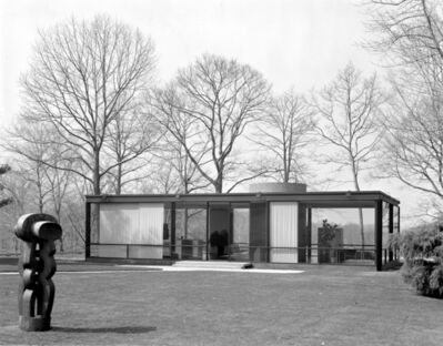 Pedro E. Guerrero, 'The Glass House, New Canaan, Connecticut, (Phillip Johnson, Architect)', 1984