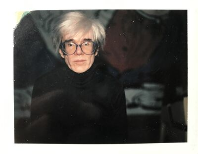 """Andy Warhol, '""""Self-Portrait in Fright Wig and Artist´s Hand"""" (diptych)', 1986"""