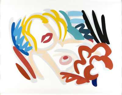 Tom Wesselmann, 'Big Blonde', 1986-1988