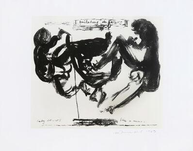 Marlene Dumas, 'Imitating the Fathers', 1989