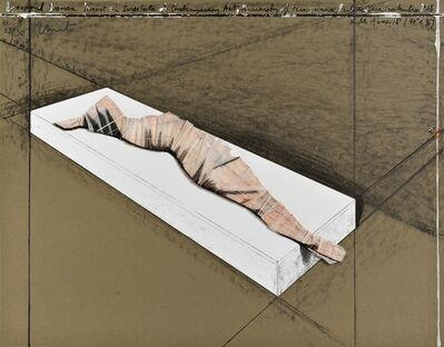 Christo and Jeanne-Claude, 'Wrapped Woman', 1996