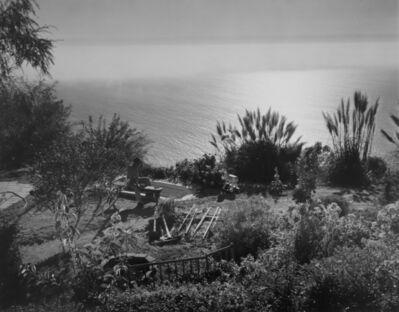 Wynn Bullock, 'Untitled [Man Looking At Ocean Near Big Sur]', 1954