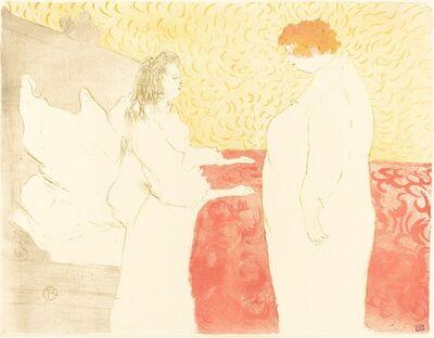 Henri de Toulouse-Lautrec, 'Woman in Bed, Profile (Femme au lit, profil)', 1896