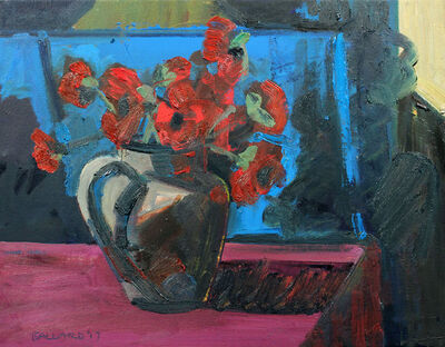 Brian Ballard, 'Poppies and Blue'