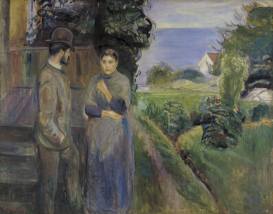 Edvard Munch, 'Summer Evening', 1889