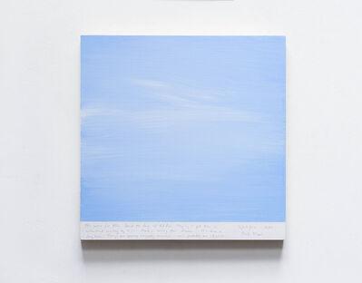 Byron Kim, 'Sunday Painting 11/26/01', 2001