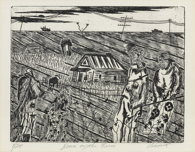 Vincent Smith, 'Down on the Farm.', 1968