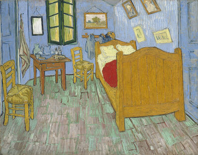 Vincent van Gogh, 'The Bedroom', 1889
