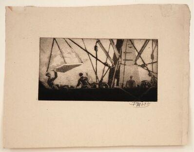 Dox Thrash, 'Pier 27 (Ittman #47)', ca. 1935