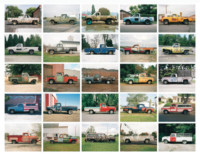 Jeff Brouws, 'Partially Painted Pickup Trucks Portfolio', 1994-2006