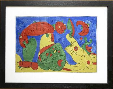 Joan Miró, 'UBU Roi (plate 11) ', 1966