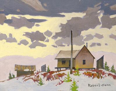 Robert Genn, 'December Village', ca. 1970