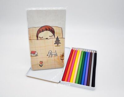 Yoshitomo Nara, 'MOMA Nara's Colored Pencil, 2011', 2011
