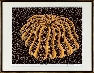 Yayoi Kusama, 'napping pumpkin', 1993