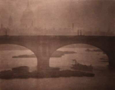 Alvin Langdon Coburn, 'Waterloo Bridge from London Bridge', 1903