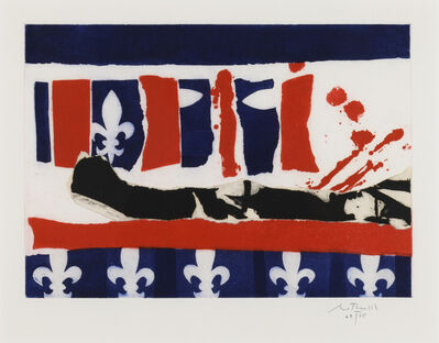 Robert Motherwell, 'French Revolution Bicentennial II', 1988