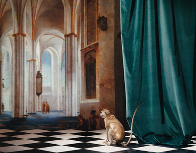 Olivier Richon, 'The Buurkerk at Utrecht, After Pieter Saenredam - Imitatio Sapiens Series', 1987