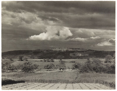 Paul Strand, 'Landscape Near Sea in Montélimar'