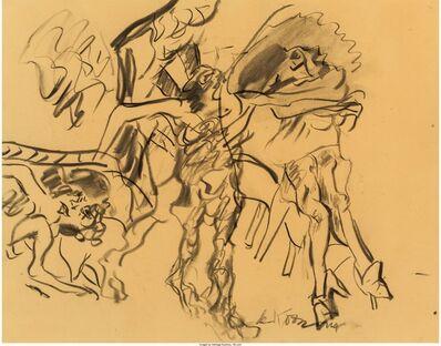 Willem de Kooning, 'Untitled (Figures in a Landscape)', 1968