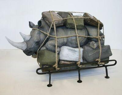 Stefano Bombardieri, 'Bagaglio Rinoceronte Medio ', 2012