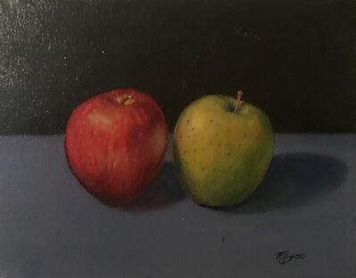 Matthew Mayer, '2 Apples', 2018