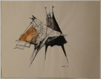Lynn Chadwick, 'Two Standing Figures', 1958