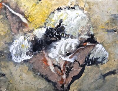 Baruj Salinas, 'Three cloud petals', 1998